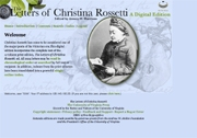 Letters of Christina Rossetti